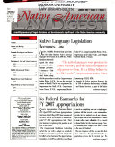 Native American Law Digest