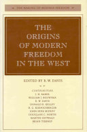 The Origins of Modern Freedom in the West