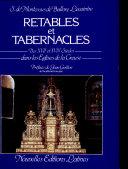 Pdf Retables et tabernacles des XVIIe et XVIIIe siècles dans les églises de la Creuse Telecharger
