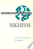 Textual Sources for the Study of Sikhism