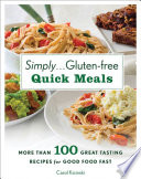 Simply       Gluten free Quick Meals Book PDF