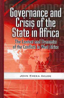 Governance and Crisis in the State in Africa