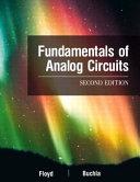 Cover of Fundamentals of Analog Circuits