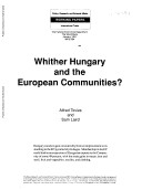 Whither Hungary and the European Communities