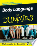 """Body Language For Dummies"" by Elizabeth Kuhnke"