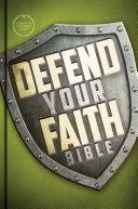 CSB Defend Your Faith Bible