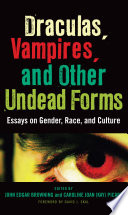 Draculas  Vampires  and Other Undead Forms Book