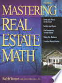 Mastering Real Estate Mathematics