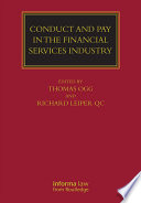 Conduct and Pay in the Financial Services Industry