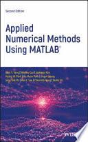 Applied Numerical Methods Using MATLAB