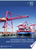 International Trade and Business Law Review: