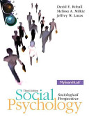 Social Psychology Plus Mysearchlab with Etext    Access Card Package