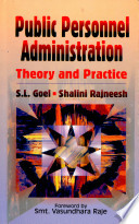 Public Personnel Administration : Theory and Practice