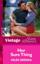 Her Sure Thing (Mills & Boon Vintage Superromance) (An Island to Remember, Book 6)