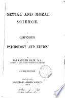 Mental and Moral Science Book