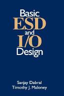 Basic ESD and I O Design