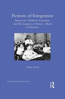 Fictions of Integration: American Children's Literature and the ... - Seite ii