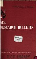 Nea Research Bulletin