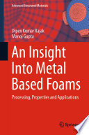 An Insight Into Metal Based Foams