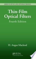Thin Film Optical Filters Book PDF