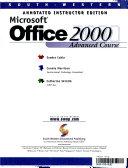 Microsoft Office 2000 Advanced Course