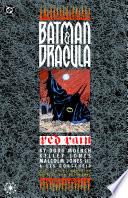 Batman   Dracula  Red Rain