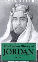 A Modern History of Jordan