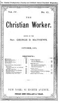 The Christian Worker