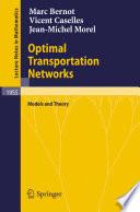 Optimal Transportation Networks Book PDF
