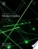 Encyclopedia of Modern Optics