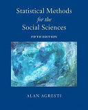Statistical Methods for the Social Sciences Book