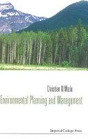 Environmental Planning and Management Pdf/ePub eBook