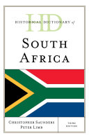 Historical Dictionary of South Africa