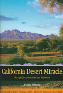 California Desert Miracle Book Online