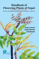 Handbook of Flowering Plants of Nepal  Vol  1 Gymnosperms and Angiosperms  Cycadaceae   Betulaceae