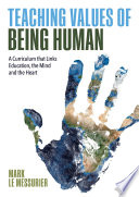 Teaching Values of Being Human Book
