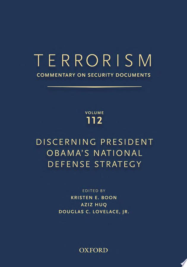Discerning President Obama's National Security Strategy