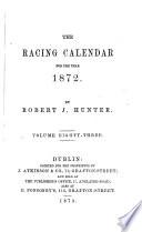 The Racing Calendar By R Hunter