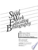 Social Work Education Bibliography