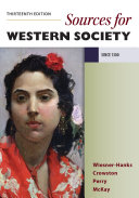 Sources for A History of Western Society  Since 1300