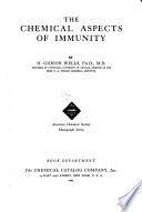The Chemical Aspects of Immunity