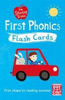 First Phonics Flash Cards