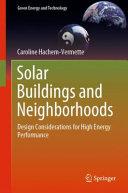 Solar Buildings and Neighborhoods