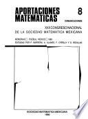 Congreso Nacional de la Sociedad Matemática Mexicana