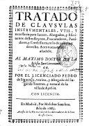 Tratado de clausulas instrumentales