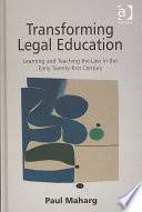 Transforming Legal Education