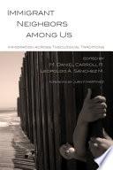 Immigrant Neighbors Among Us Book