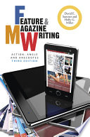 Feature and Magazine Writing Book PDF