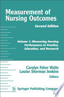 Measurement Of Nursing Outcomes 2nd Edition