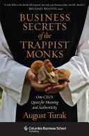 Business Secrets of the Trappist Monks Pdf/ePub eBook